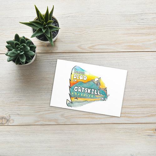 "Standard ""Summer Vacation"" Postcard"