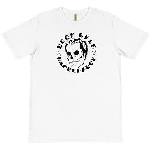 The 'Drop Dead Barber Shop' Organic T-Shirt