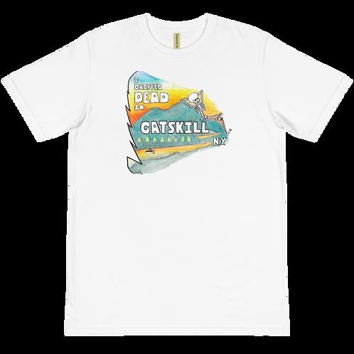 The 'Drop Dead Vacation' Organic T-Shirt