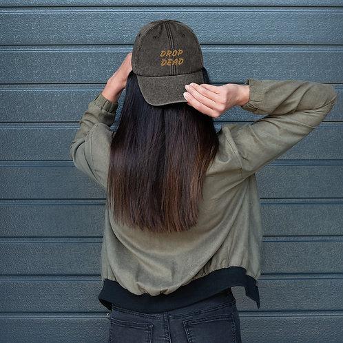 """The """"Drop Dead"""" Vintage Hat"""