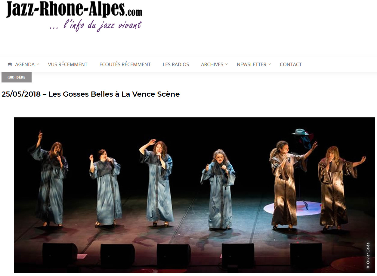Article Jazz-Rhone-Alpes.com