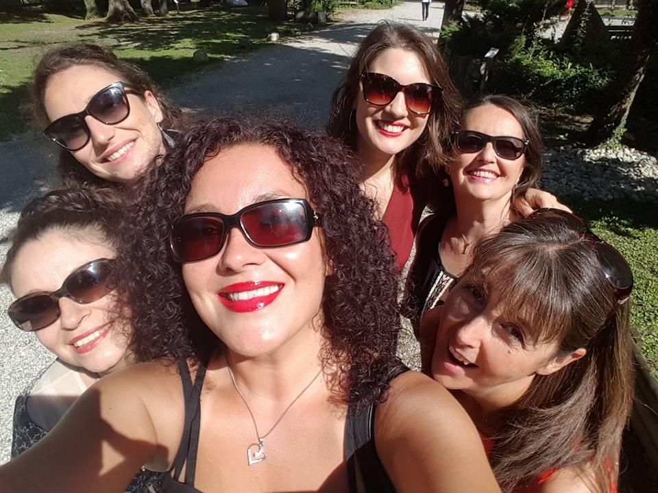 Petit Selfie du groupe vocal