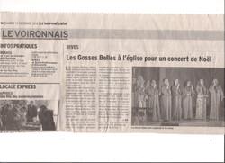 Article Le Voironnais  RIVES