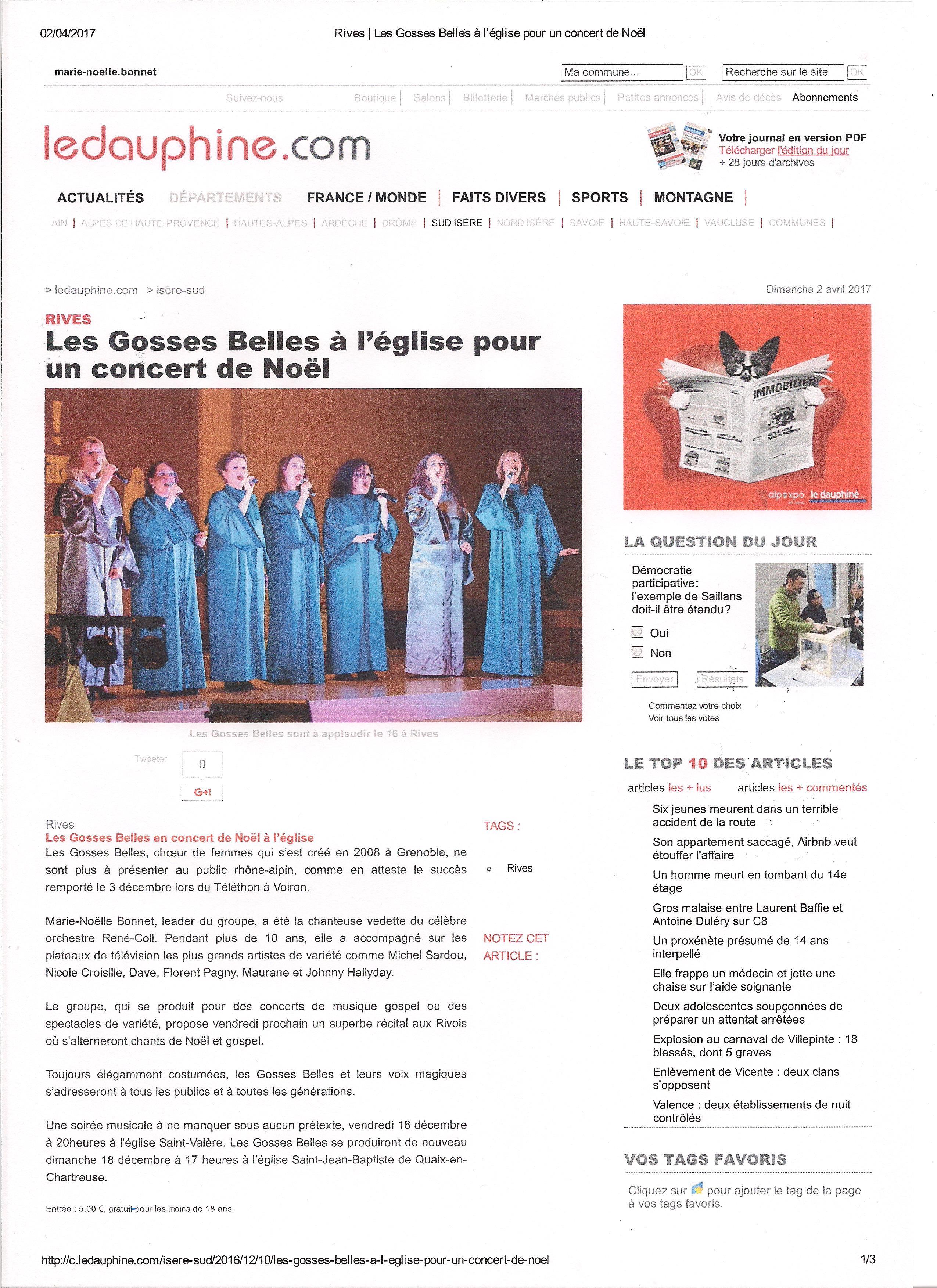 Dauphine Libéré RIVES