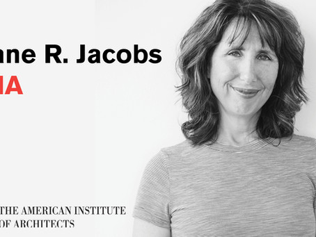 Diane Jacobs, FAIA Elevated to College of Fellows in the American Institute of Architects