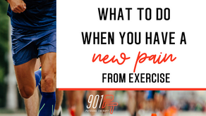 What to Do When You Have a New Pain from Exercise