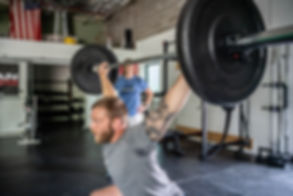 overhead barbell squat physical therapist