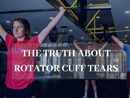 The Truth About Rotator Cuff Tears