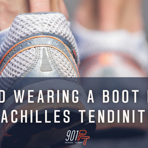Why did wearing a boot NOT fix my Achilles tendinitis?!
