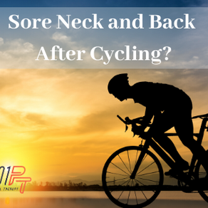 Neck and Upper Back Pain After Cycling