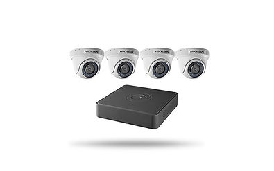 4 Hikvision HD Turrets Long Island