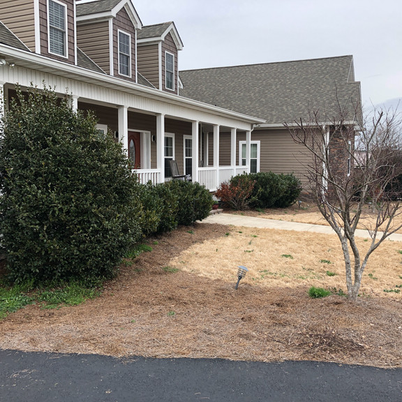 Front Yard Landscaping - Before