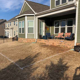 Paver Patio & Firepit - Before