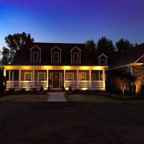 Front Yard Landscaping - Lighting