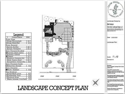SPECIAL!! LANDSCAPE DESIGN PLANS