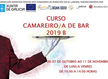 Curso de Camarera/o de Bar 2019-B