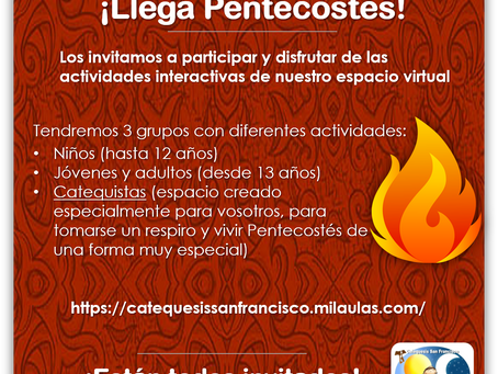 Llega Pentecostés