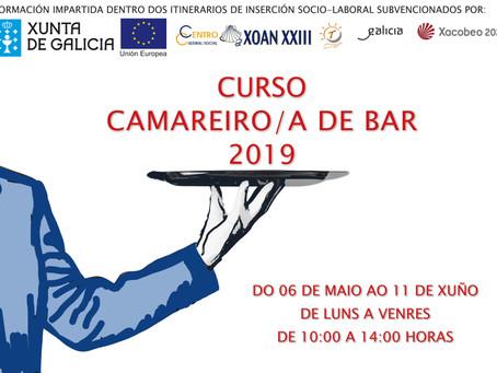 Curso Camarera/o de bar 2019
