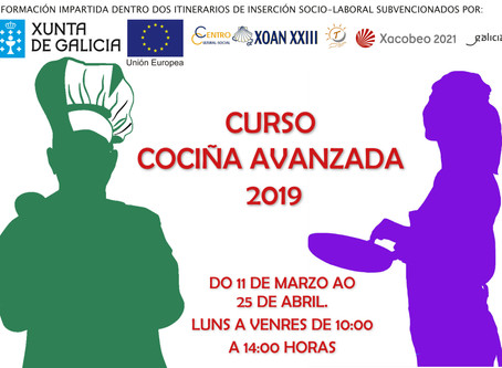 """Curso """"Cocina Avanzada"""" 2019"""