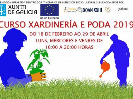 Curso Jardinería y Poda 2019