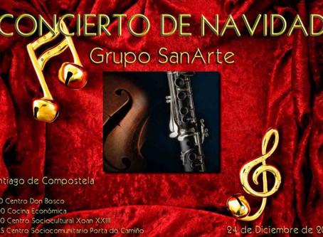 Concerto de Nadal Grupo SanArte