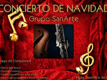 Concierto de Navidad Grupo SanArte