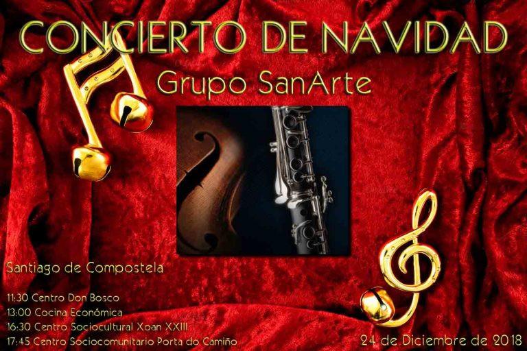 Concierto de Navidad - Grupo SanArte
