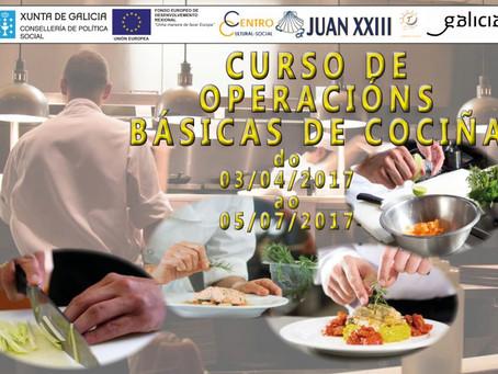 Curso de Operaciones Básicas de Cocina