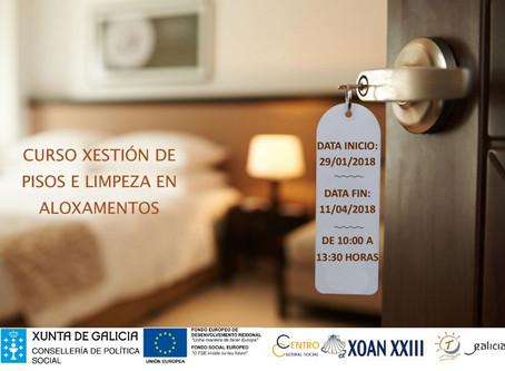 Curso Gestión de Pisos y Limpieza en Alojamientos
