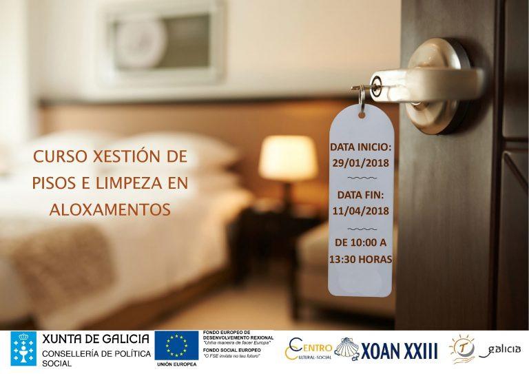 Curso de Gestión de Pisos y Limpieza en Alojamientos
