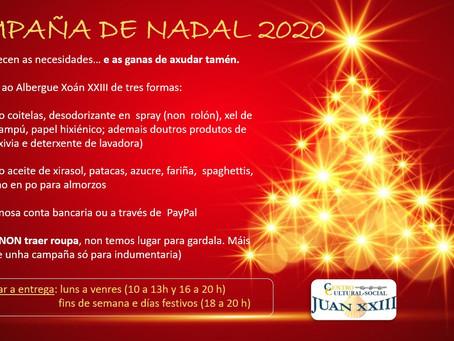 CAMPAÑA DE NADAL 2020