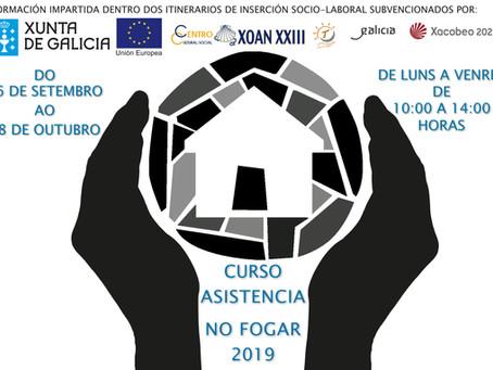 CURSO DE ASISTENCIA EN EL HOGAR 2019