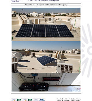 Pages from Alain Solar's off-grid solar