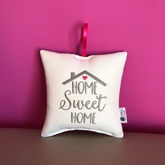 'Home Sweet Home' Hanging Cushion