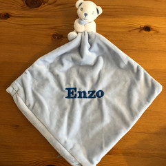 Personalised Baby Comforter