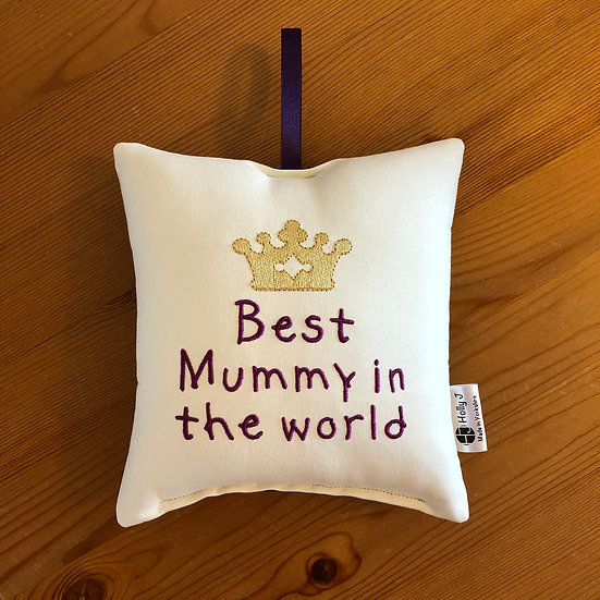 'Best Mummy in the world' Hanging Cushion