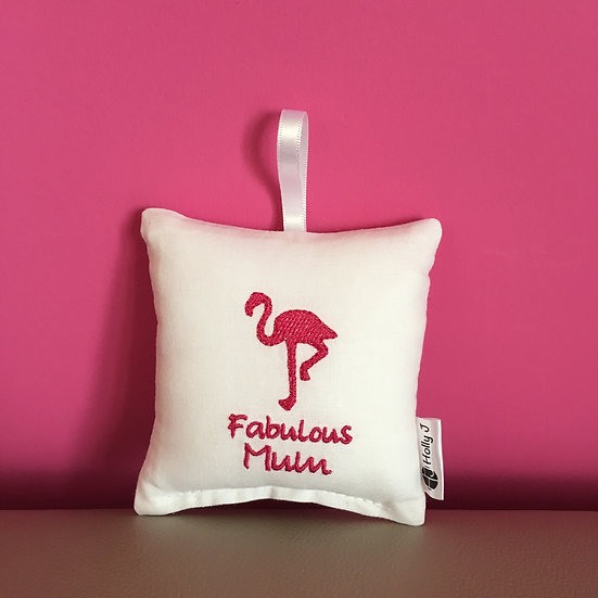 'Fabulous Mum' Mini Hanging Cushion