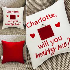Marry Me Cushion