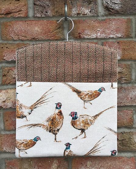Pheasants Peg Bag