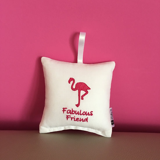 'Fabulous Friend' Mini Hanging Cushion