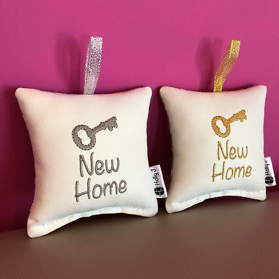 'New Home' Mini Hanging Cushion