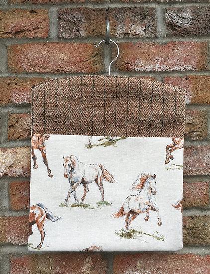Wild Horses Peg Bag