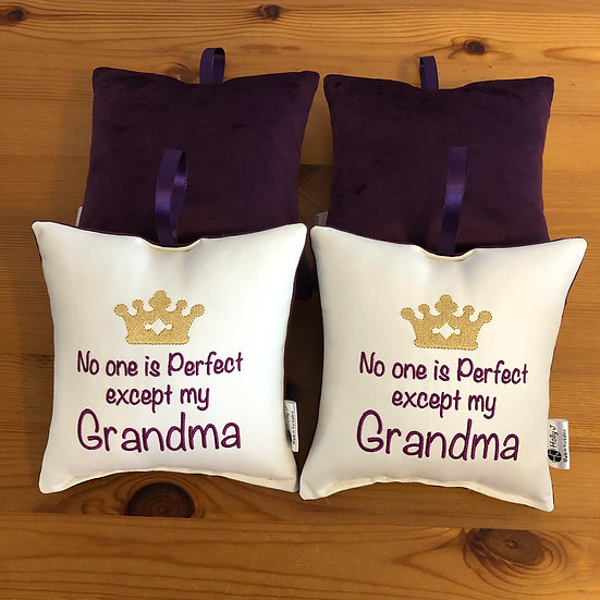 'No one is perfect except my Grandma' Hanging Cushion