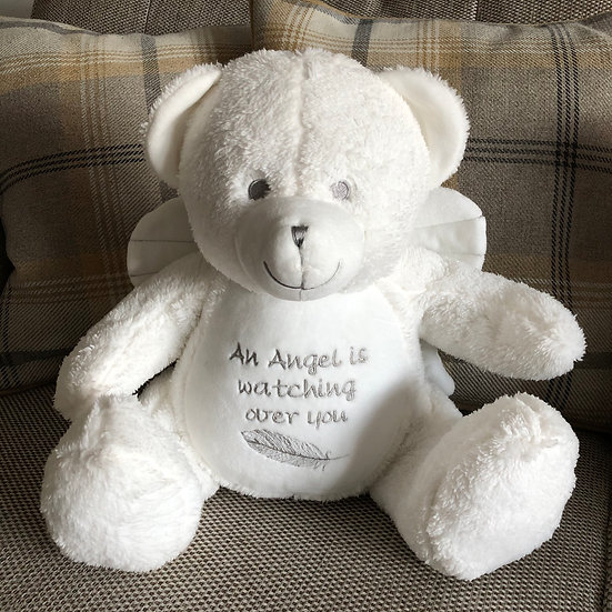 'An Angel is watching over you' Angel Teddy Bear