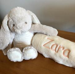 Bunny and Blanket Set