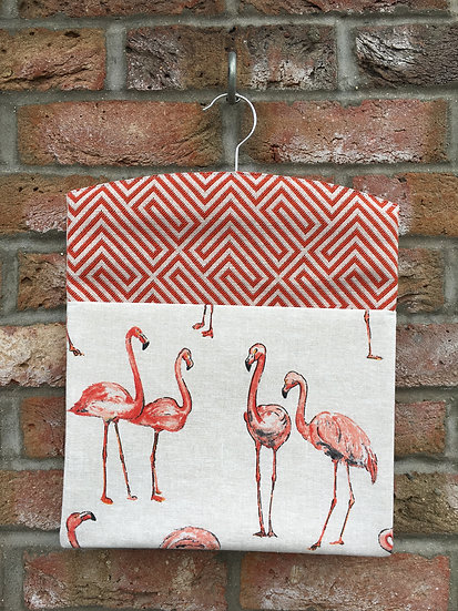 Flamingo Peg Bag