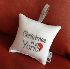 Christmas in York Cushion