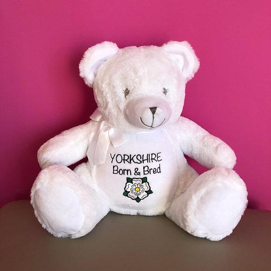 'Yorkshire Born & Bred' Teddy Bear