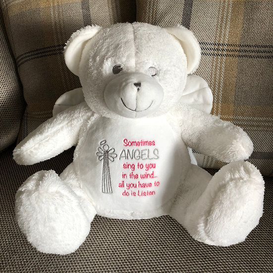 'Sometimes Angels...' Angel Teddy Bear