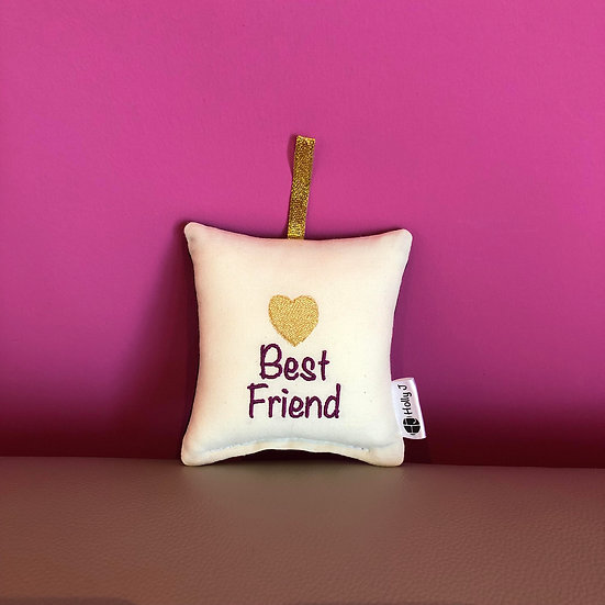 'Best Friend' Mini Hanging Cushion